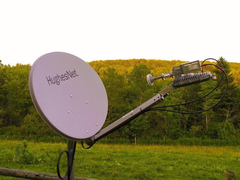 instalación de internet en el campo